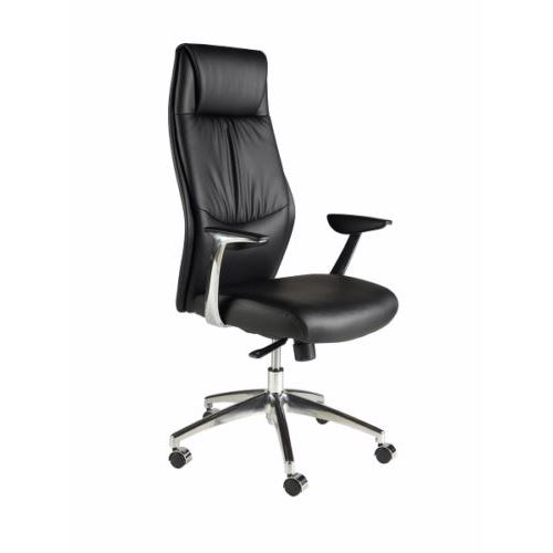 Professional and modern managerial leather office chair.